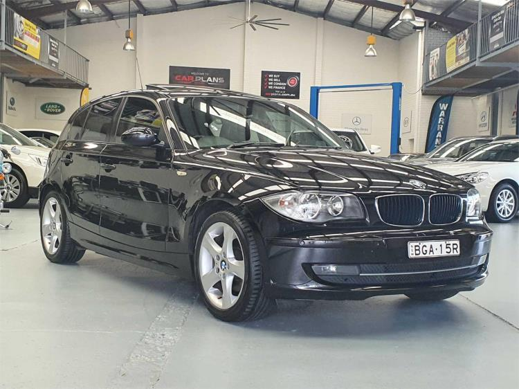 2008 BMW 1 5D HATCHBACK 20i E87 MY07 UPGRADE