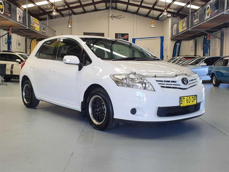 2010 TOYOTA COROLLA 5D HATCHBACK ASCENT ZRE152R MY11